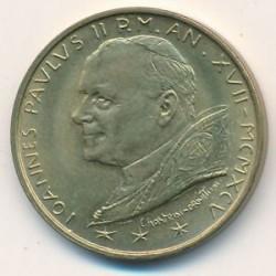 Monēta > 20liru, 1995 - Vatikāns  - obverse
