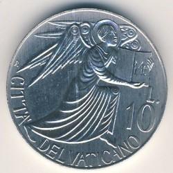 Mynt > 10lire, 1985 - Vatikanstaten  - reverse