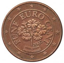 Coin > 5cents, 2002-2017 - Austria  - obverse