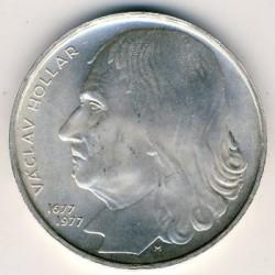 Moneta > 100corone, 1977 - Cecoslovacchia  (300° anniversario - Morte di Václav Hollar) - reverse