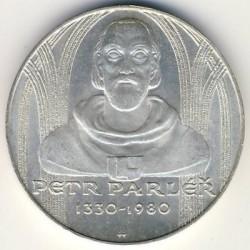 Moneta > 100corone, 1980 - Cecoslovacchia  (650° anniversario - Nascita di Peter Parler) - reverse