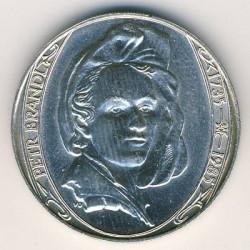 Moneta > 100kronų, 1985 - Čekoslovakija  (250th Anniversary - Death of Peter Brandl) - reverse