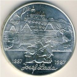 Moneta > 500corone, 1987 - Cecoslovacchia  (100° anniversario - Nascita di Josef Lada) - reverse