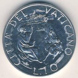 Mynt > 10lire, 1989 - Vatikanstaten  - reverse
