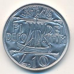 Mynt > 10lire, 1993 - Vatikanstaten  - reverse