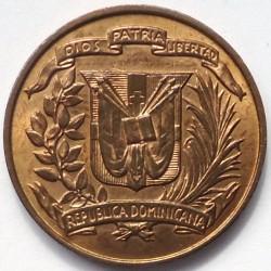 מטבע > 1סנטאבו, 1968-1975 - הרפובליקה הדומיניקנית  - obverse