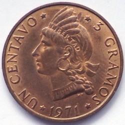 מטבע > 1סנטאבו, 1968-1975 - הרפובליקה הדומיניקנית  - reverse