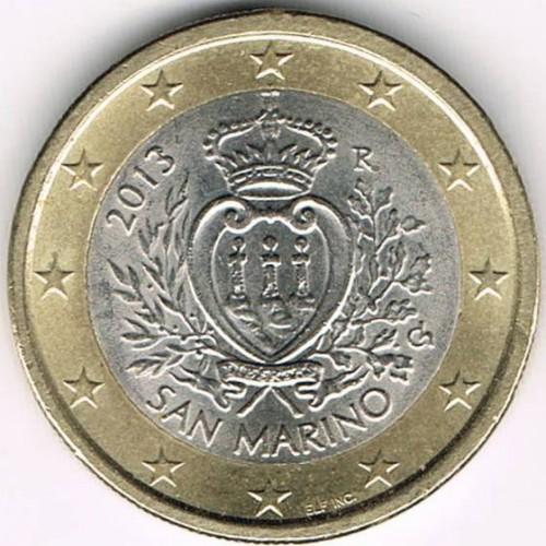 1 Euro 2008 2016 San Marino Münzen Wert Ucoinnet