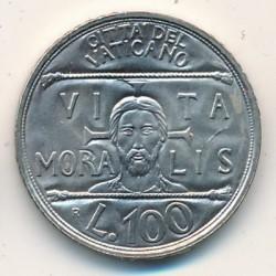 Minca > 100lire, 1993 - Vatikán  - reverse