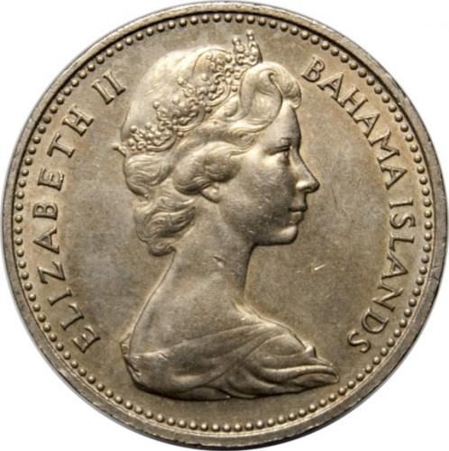 5 Cent 1966 1970 Bahamas Münzen Wert Ucoinnet