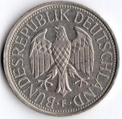 Münze > 1Mark, 1993 - Deutschland  - obverse