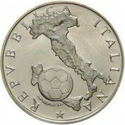 Munt > 500lire, 1986 - Italië  (1986 FIFA World Cup) - obverse