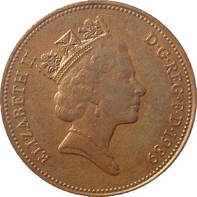 2 Pence 1985 1992 Vereinigtes Königreich Münzen Wert Ucoinnet