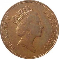 Moneta > 2pensai, 1985-1992 - Jungtinė Karalystė  - obverse