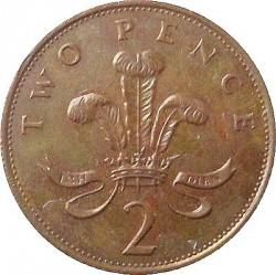 Moneta > 2pensai, 1985-1992 - Jungtinė Karalystė  - reverse