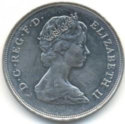 Moneta > 25pensów, 1980 - Wielka Brytania  (80 rocznica urodzin - Królowa Matka) - obverse