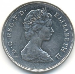 Moneta > 25pensów, 1980 - Wielka Brytania  (80 rocznica urodzin - Królowa Matka) - reverse