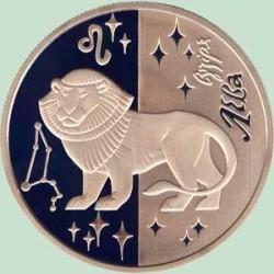 Moneta > 5hrywien, 2008 - Ukraina  (Znaki zodiaku - Lew) - reverse