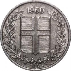 Mynt > 10aurar, 1960 - Island  - obverse