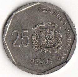 Minca > 25pesos, 2005-2016 - Dominikánska republika  - reverse