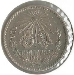 Νόμισμα > 50Σεντάβος, 1935 - Μεξικό  - reverse
