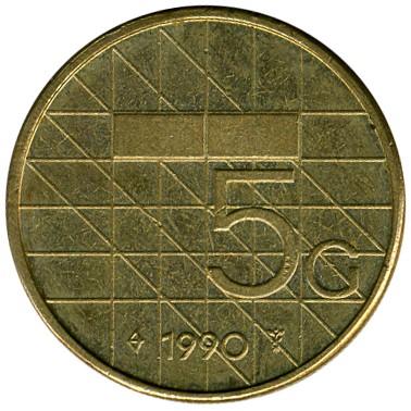 5 Gulden 1988 2001 Niederlande Münzen Wert Ucoinnet