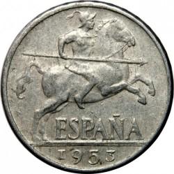 Monedă > 10céntimo, 1940-1953 - Spania  - obverse