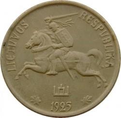 Minca > 5centas, 1925 - Litva  - obverse