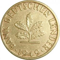 Coin > 5pfennig, 1949 - Germany  - obverse