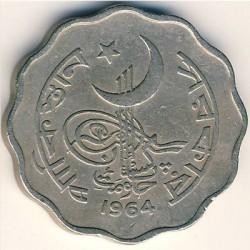Mynt > 10paisa, 1964-1968 - Pakistan  - obverse