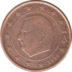 Moneta > 5centesimidieuro, 1999-2007 - Belgio  - obverse