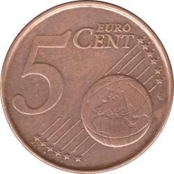 Monēta > 5centi, 1999-2007 - Beļģija  - reverse