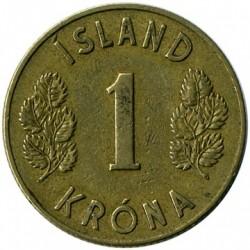Монета > 1крона, 1946 - Ісландія  - reverse