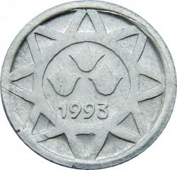 Νόμισμα > 5Καπίκια, 1993 - Αζερμπαιτζάν  - obverse