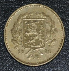 Münze > 10Mark, 1938 - Finnland  - reverse
