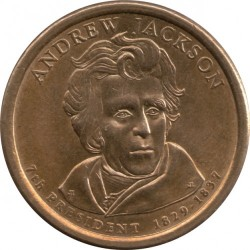 Moneta > 1dollaro, 2008 - USA  (President of the USA - Andrew Jackson (1829-1837)) - obverse