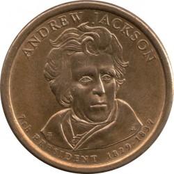 Münze > 1Dollar, 2008 - USA  (President of the USA - Andrew Jackson (1829-1837)) - obverse
