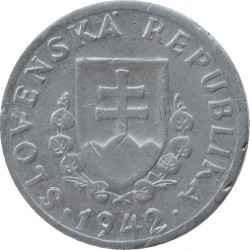 Münze > 20Heller, 1942-1943 - Slowakei   - obverse