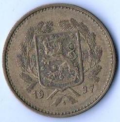 Münze > 10Mark, 1937 - Finnland  - obverse