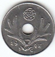 Münze > 10Penny, 1943 - Finnland  - reverse