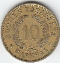 Münze > 10Mark, 1936 - Finnland  - reverse