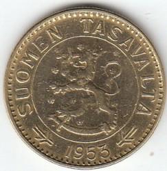Münze > 50Mark, 1953 - Finnland  - obverse