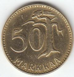 Münze > 50Mark, 1953 - Finnland  - reverse