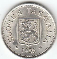 Moneta > 100markių, 1956-1960 - Suomija  - obverse