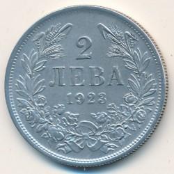 Кованица > 2лева, 1923 - Бугарска  - reverse