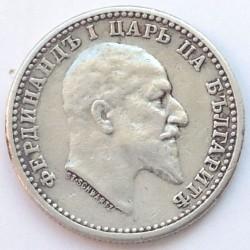 Coin > 50stotinki, 1910 - Bulgaria  - obverse