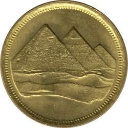 Moeda > 1piastre, 1984 - Egito  - obverse