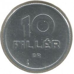 Νόμισμα > 10Φίλερ, 1964 - Ουγγαρία  - reverse
