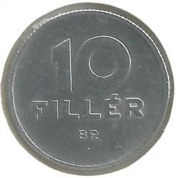 Νόμισμα > 10Φίλερ, 1950-1966 - Ουγγαρία  - reverse
