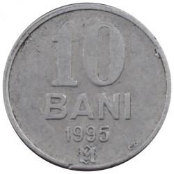 Moneda > 10bani, 1995-2017 - Moldavia  - reverse